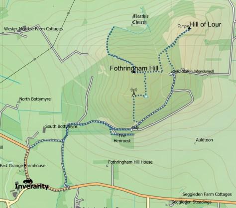 Fothringham route