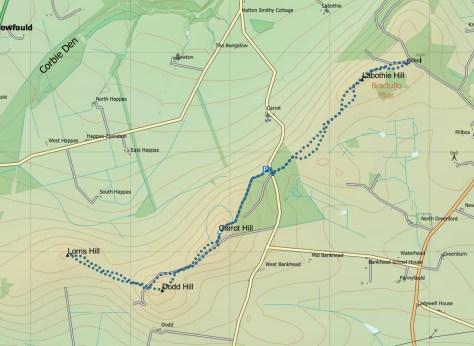 Lorns-Labothie route