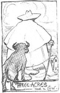 G.K.Chesterton self-portrait