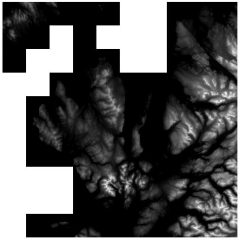 OS OpenData Terrain 50 NG raster tiles merged