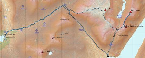 Alder-Bheoil route