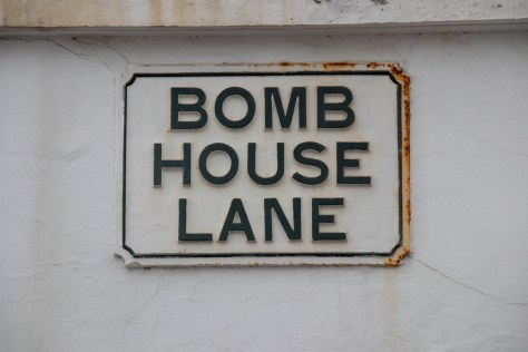 Bomb House Lane, Gibraltar