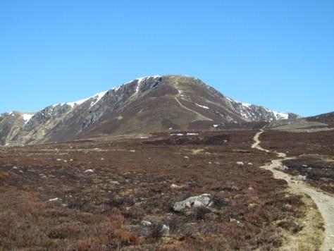 The Snub from Loch Brandy trail