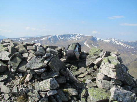 Summit of Carn Bhinnein