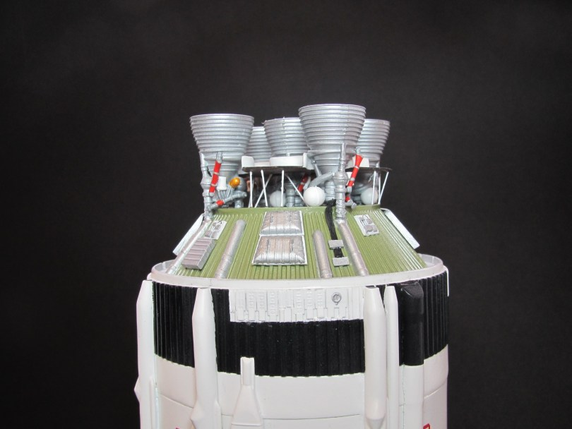 Revell 1/96 Saturn V S-II thrust structure (1)