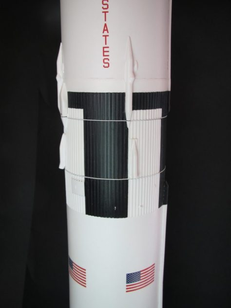 Revell 1/96 Saturn V with New Ware details (lower interstage)