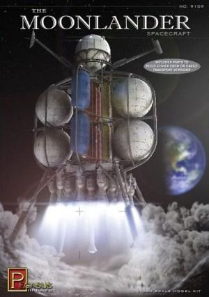 Pegasus 1/350 Von Braun Moon Lander box art