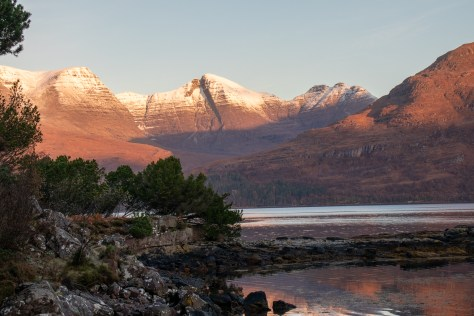 Beinn Alligin above Loch Torridon