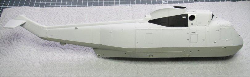 Hasegawa 1/48 SH-3H Sea King starboard side basic paint