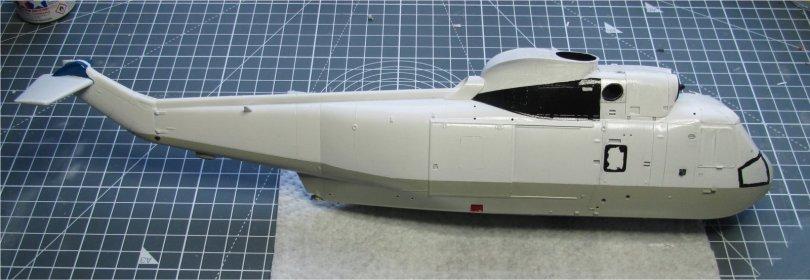 Hasegawa 1/48 SH-3H Sea King starboard side gloss