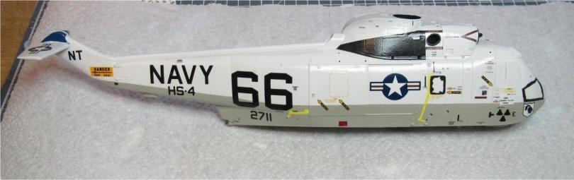 Hasegawa 1/48 SH-3H Sea King starboard decals