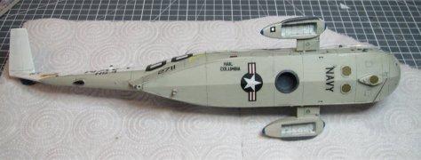 Hasegawa 1/48 SH-3H Sea King weathered underside