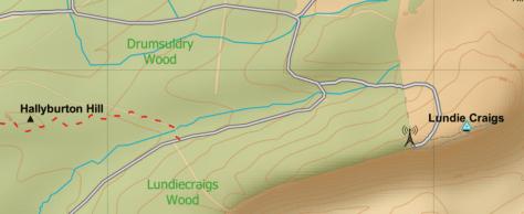 OS OpenData Lundiecraigs Wood