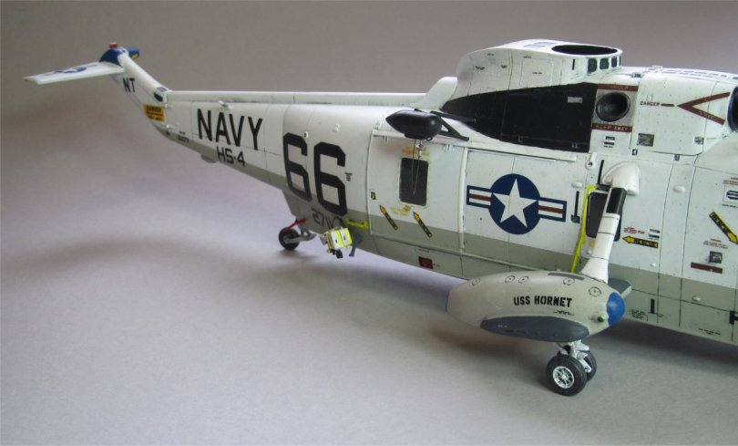 Hasegawa 1/48 SH-3H Sea King camera & winch 1