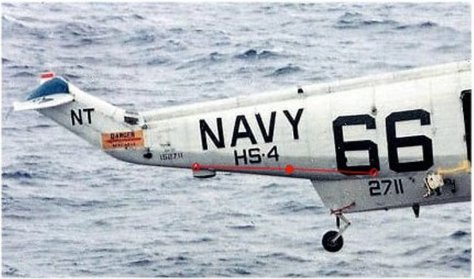 SH-3D starboard aerial diagram