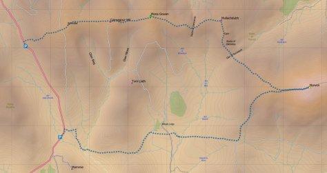 Morven route