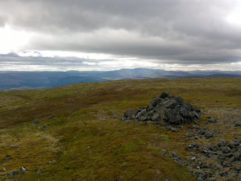 Lochnagar from Morven