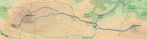 Lomonds route