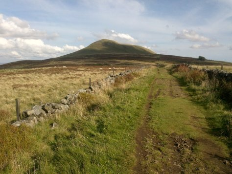 Approach to East Lomond from the west
