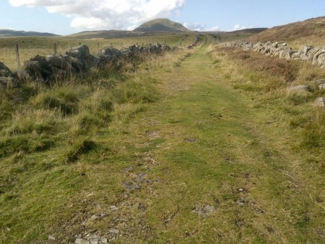 Approach to West Lomond