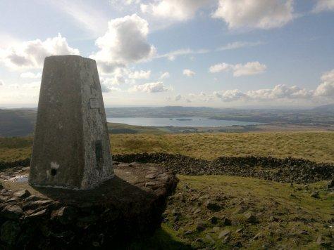 Loch Leven from summit of West Lomond