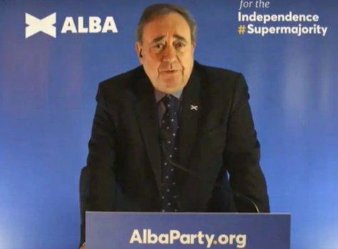 Alex Salmond announces the Alba Party