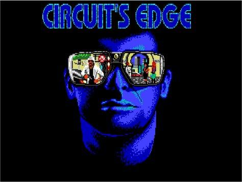 Opening screen of Circuit's Edge (Infocom, 1989)