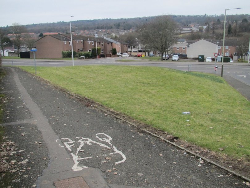 Site of old Lochee West Railway Station, Dundee