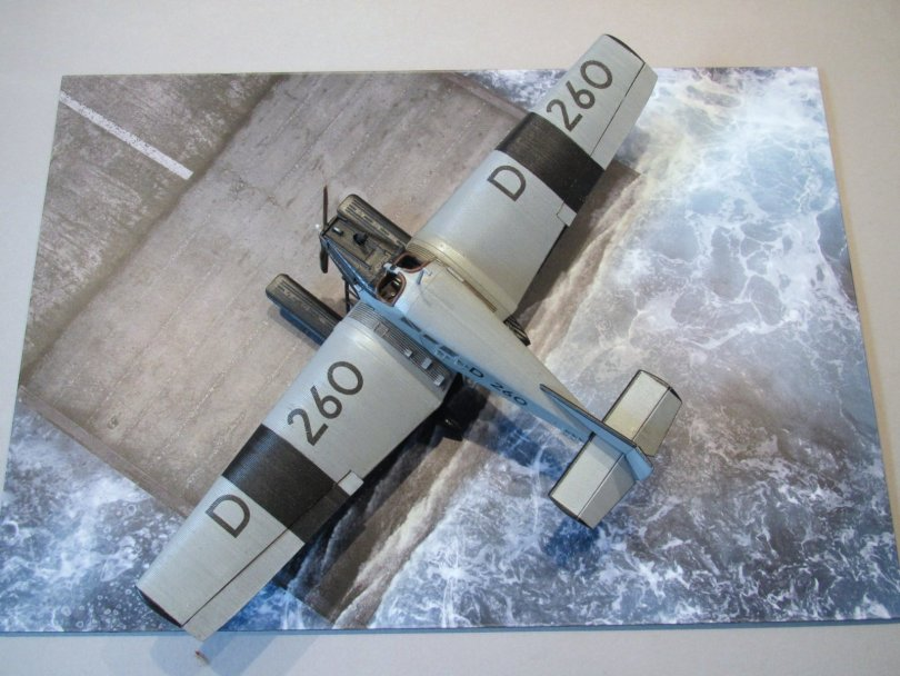 Revell 1/72 Junkers F13 D 260 completed 2