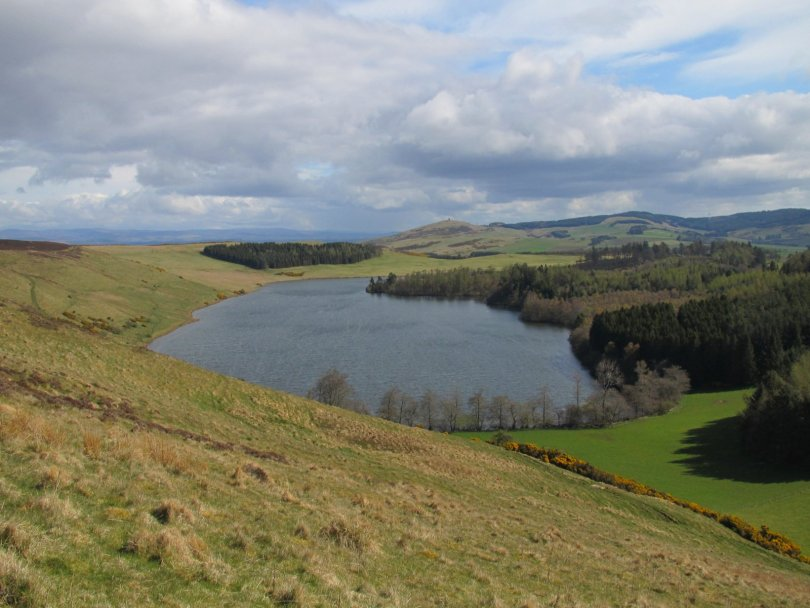Long Loch from Westerkeith Hill