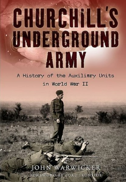 Cover of Churchill's Underground Army by John Warwicker