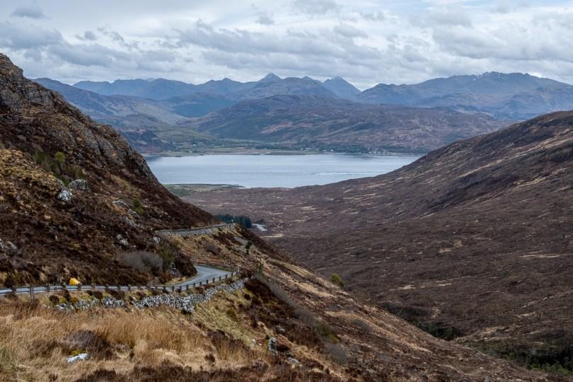 Descent to Kylerhea, Skye