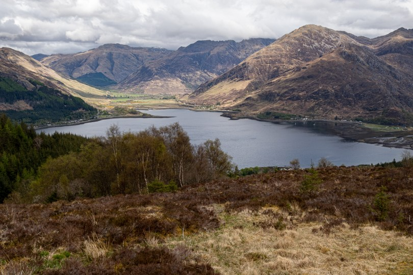 Head of Loch Duich from Ratagan pass