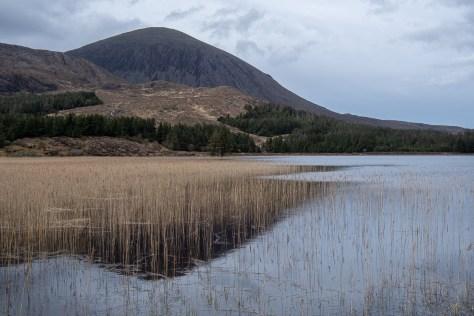 Beinn na Chaillich from Loch Cill Chriosd, Skye