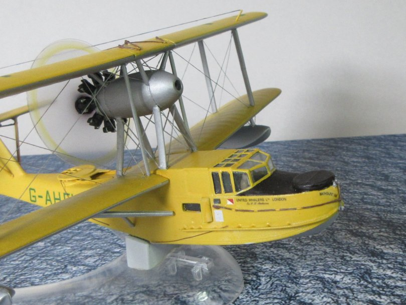 Revell 1/72 Supermarine Walrus completed 5