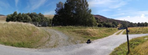 Western end of Bealach Path