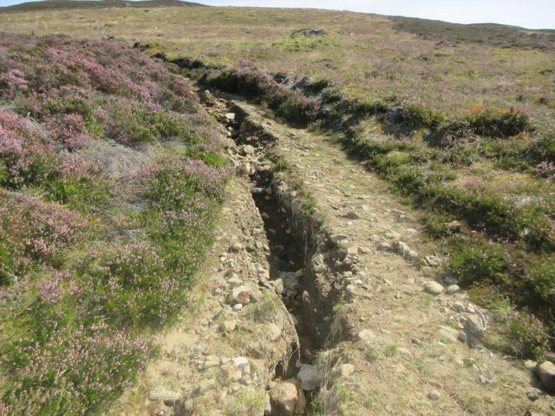 Erosion on the Bealach Path, Killicrankie