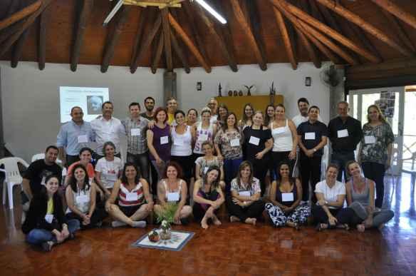 Foto posada do grupo que participou do workshop nesses dois dias
