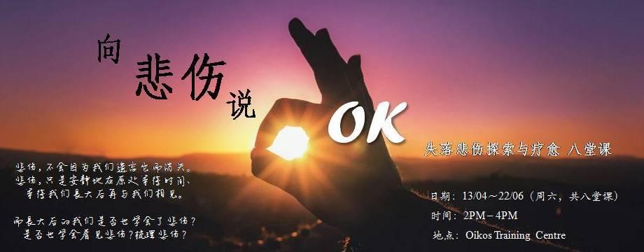 『向悲伤说OK』失落悲伤探索与疗愈  八堂课