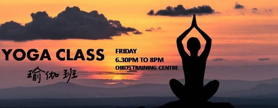 Yoga Class 瑜伽班