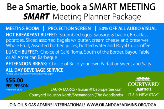 COURTYARD MARRIOTT PROMO FOR OGA MEMBERS