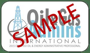 Sample OGA Certified Logo