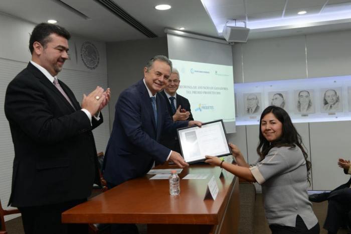 SENER reconoce a las mejores propuestas tecnológicas para el desarrollo sustentable de México