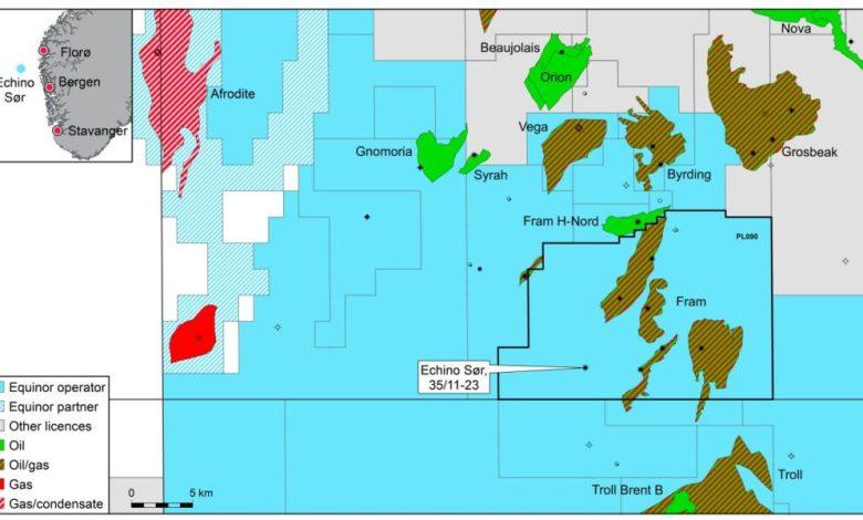 Equinor realiza descubrimiento en el Mar del Norte