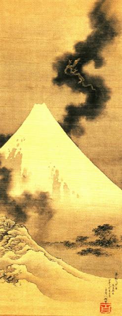 Hokusai-fuji-koryuu