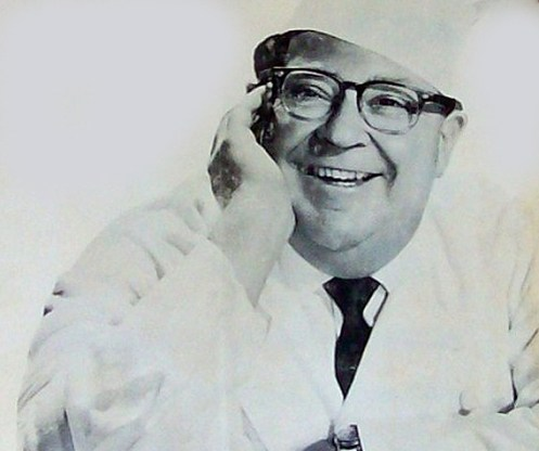 Chef Mike Roy - a daily cooking fixture on L.A. Radio in the 1960s.