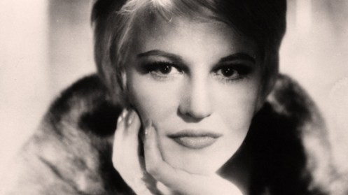 Peggy Lee - lending a sultry tone to the festivities.