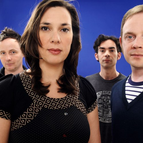 Stereolab minus the late Mary Hansen -  a warm and ethereal air to their music.