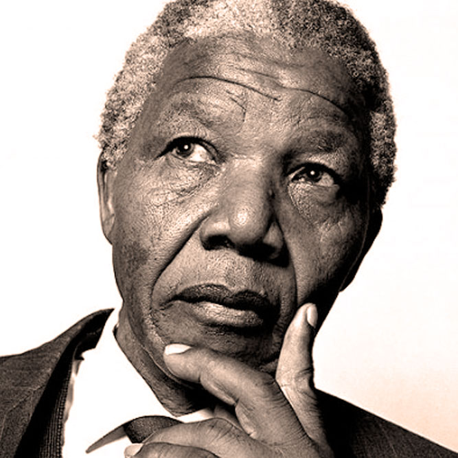 Nelson Mandela - From Prison to President. A voice now still - a spirit, never.