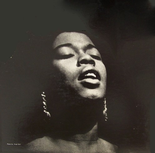 Sarah Vaughan - warming up Philharmonie Hall in 1969.
